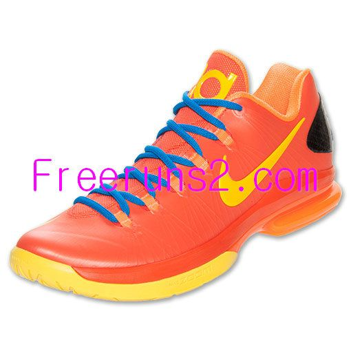 off Cheap Kevin Durant Shoes,Nike KD V Elite Mens Team Orange Yellow Total  Orange 585386 800