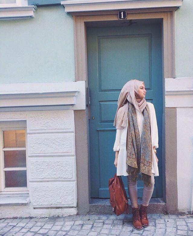 Bebe #hijabfashion