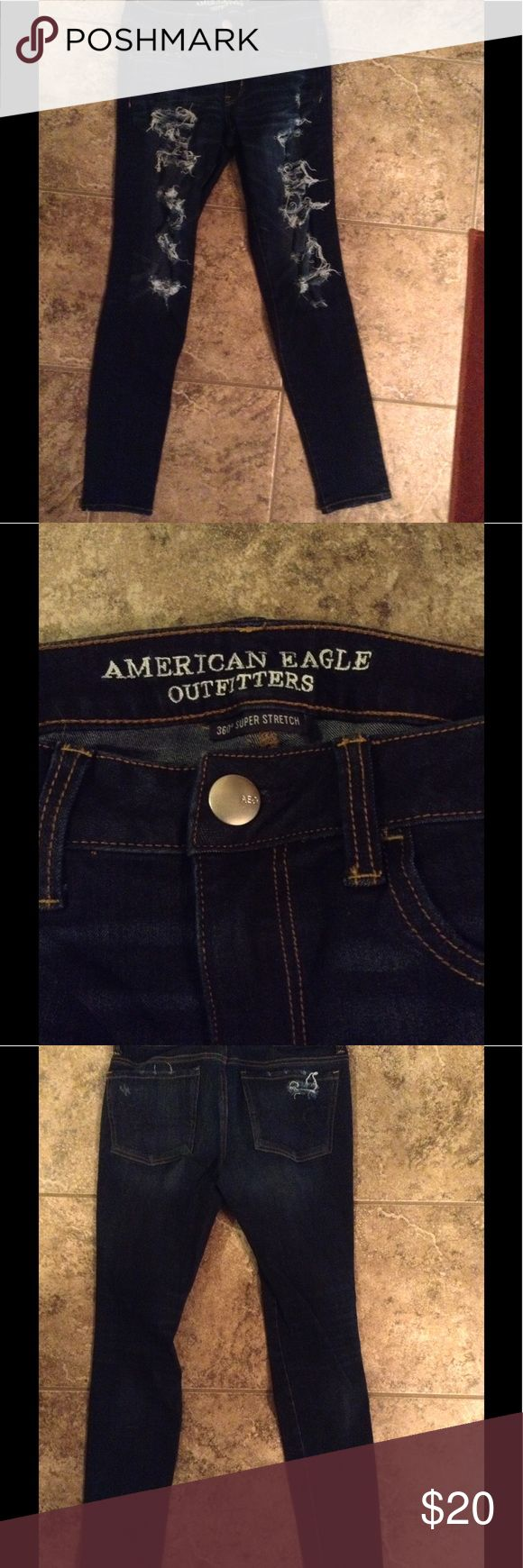 American Eagle jeggings 360 super stretch jeggings. Excellent condition American Eagle Outfitters Jeans
