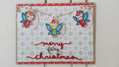 piccole polpette crescono: MERRY FAIRY CHRISTMAS CARD #doodlebugdesign #lawnfawn #christmascard #christmas