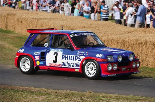 #Renault to show off their race and rally heritage fleet at #GoodwoodFestivalofSpeed. Get touch up paint for your Renault: http://www.chipex.co.uk/Renault-touch-up-paint/