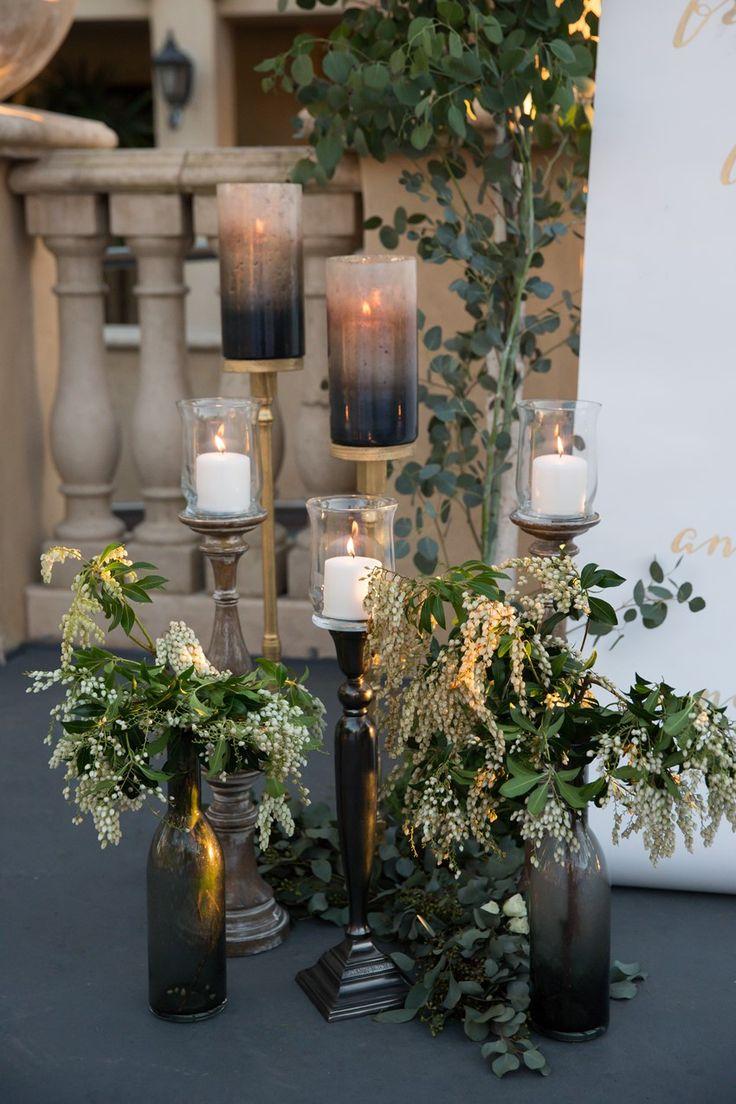 Glamorous Green & Gold Wedding Inspiration