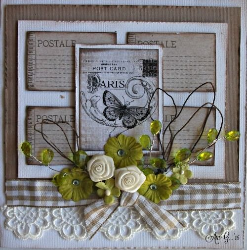 Meg's Garden: CARDS in NEUTRAL by Annette