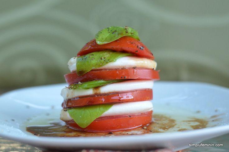 Salata caprese -un aperitiv deosebit   Simplu Feminin
