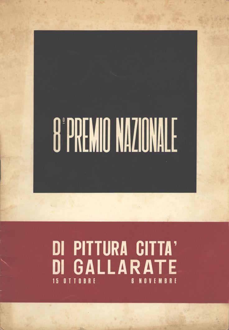 Catalogo Mostra 1966 8° premio nazionale, Gallarate