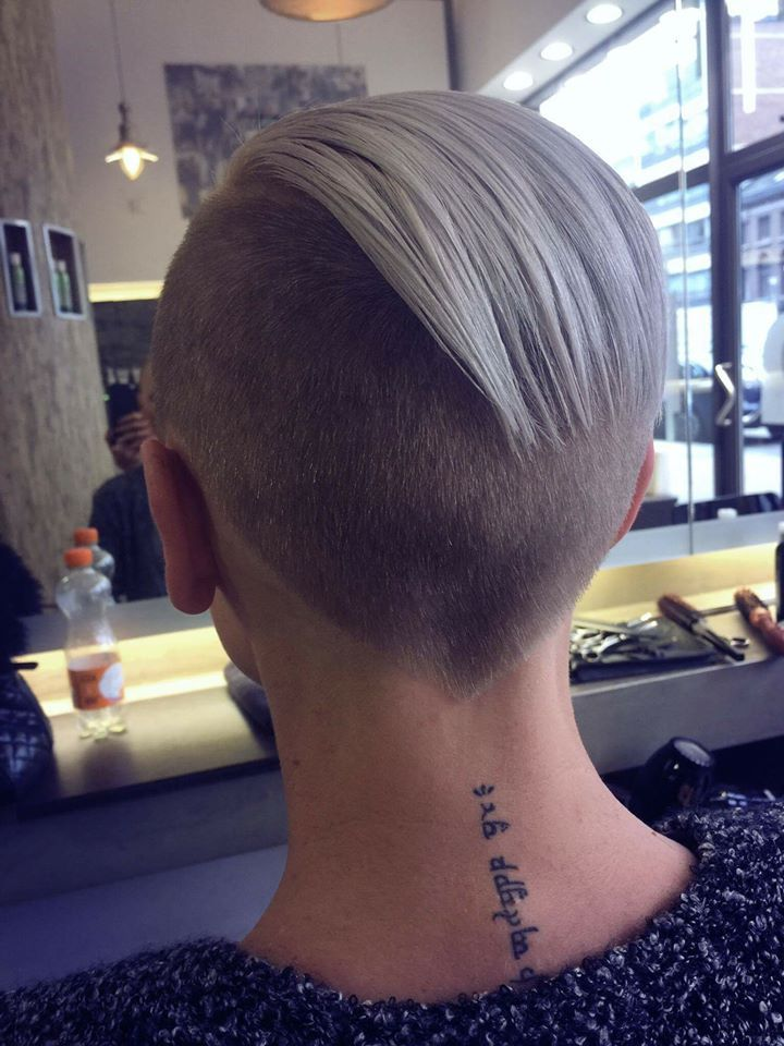 Drang haare abrasieren