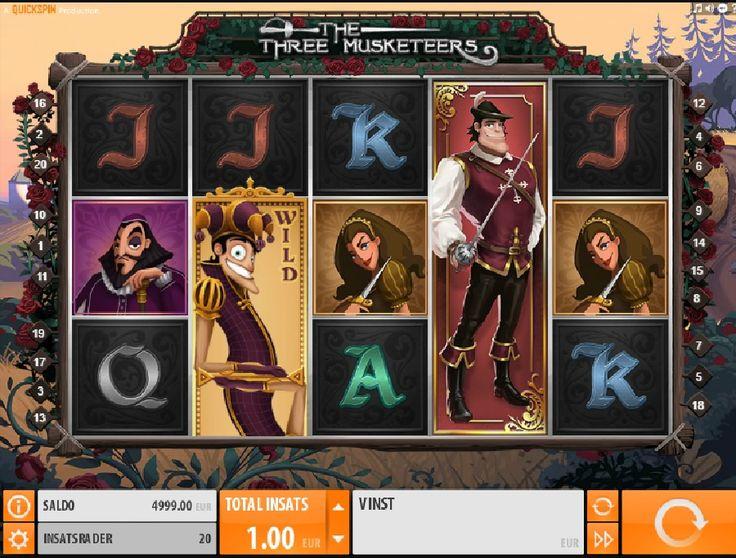 Bekämpa orättvisa och bli belönad!  http://gratisslotsmaskiner.com/spel/the-three-musketeers-slotmaskiner-gratis  #thethreemusketeers #gratisslotsmaskiner #spel