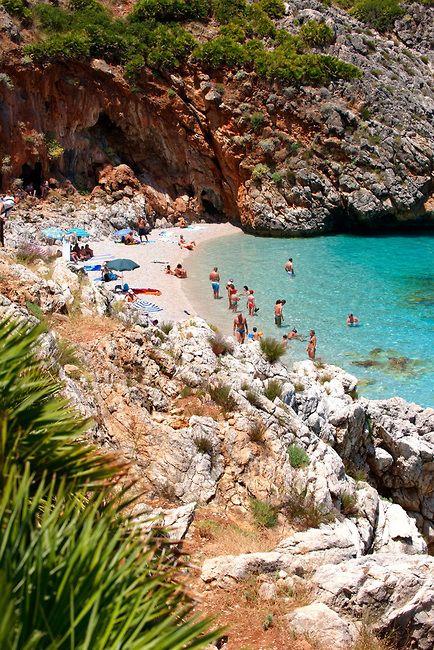 Zingaro Nature Reserve, Scopello, Castellammare Del Golfo, Sicily, Italy