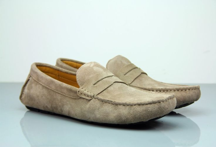 Fane Flap Ash Suede Loafers. #institchu #suedeloafers #menswear #mensstyle