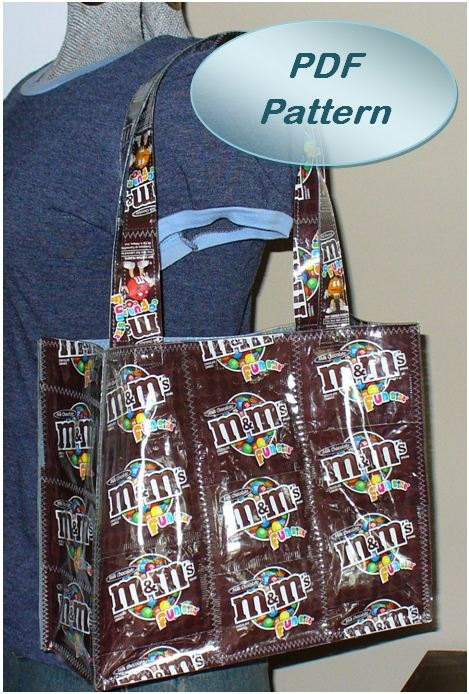 buy handbag candy wrapper bag pattern