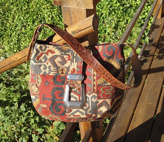 Southwest Style Gypsy Boho Hippie Shoulder Messenger Bag Purse