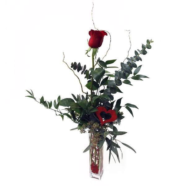 Rose Bud Vase. Simply perfect for Valentine's Day!