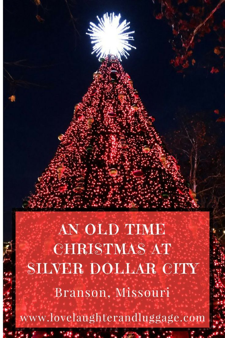 Head to Silver Dollar City in Branson, Missouri, USA, to experience An Old Time Christmas.  You'll have a great time seeing shows, tasting goodies, meeting Santa, and gazing at millions of Christmas lights.  Theme park, holidays, Christmas, family experiences.