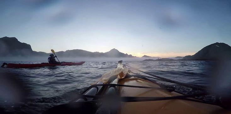 Lofoten – Kayak dans le cercle polaire arctique