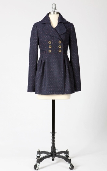 Pleated Waist Jacket by Tulle