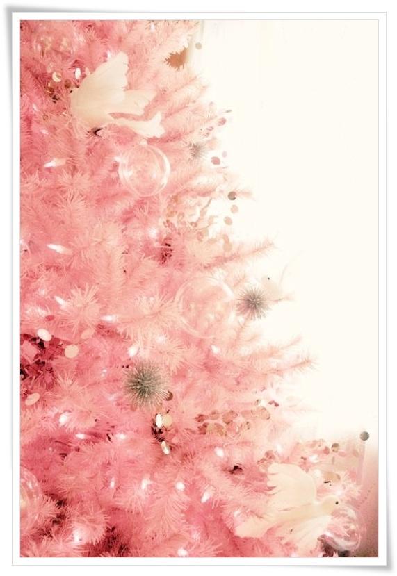 Pink Christmas tree from Madame Soufflé smells like Vintage ...
