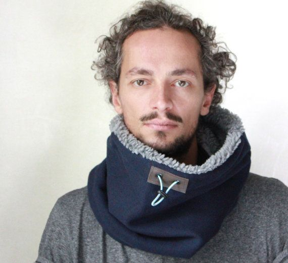 Cashmere cowl scarf scarves for men scarf mens Snock® in by jaffic