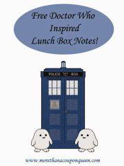 Free Doctor Who Printables | SKGaleana