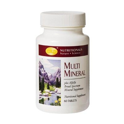 It is a broad spectrum formulation containing macro, micro and trace minerals. It was formulated to ensure that those individuals concerned about the total mineral content of their diet could find complete mineral supplementation in one product.