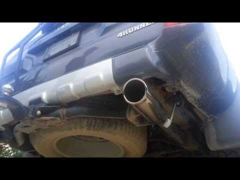 V8 Toyota 4runner Gibson Cat Back Exhaust - YouTube