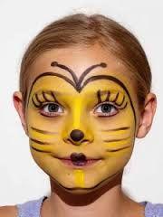 Afbeeldingsresultaat voor schminken maya de bij