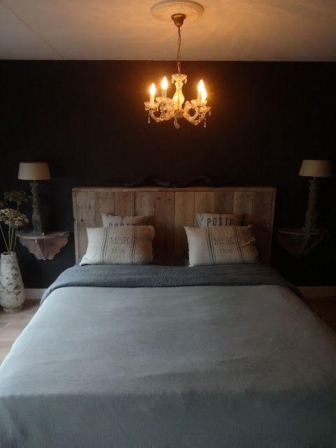 Moonhuis; slaapkamer.