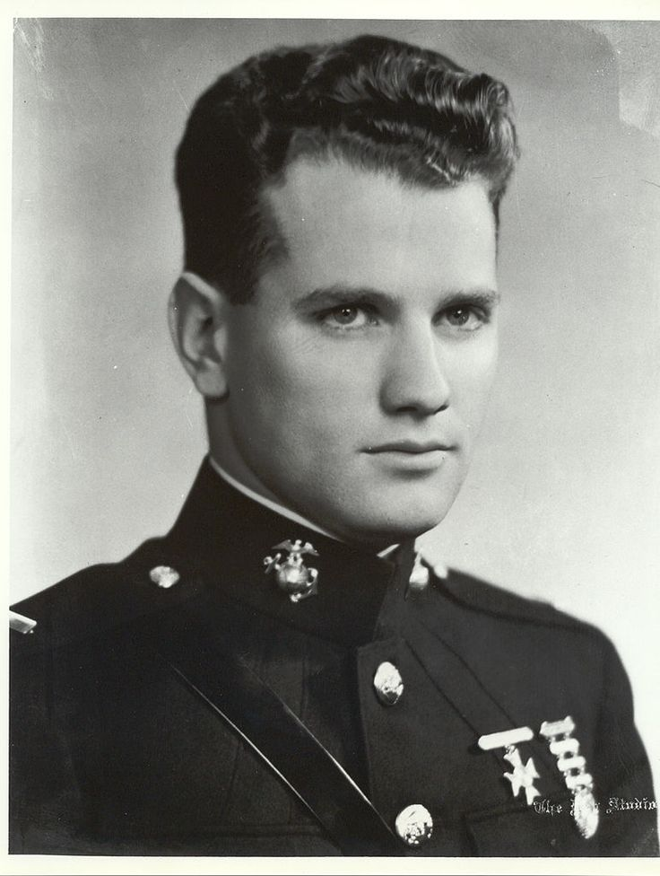 "First Lieutenant George Ham Cannon (1915-1941) was the first U.S. Marine in World War II to receive the Medal of Honor for ""extraordinary courage, and disregard of his own condition"" during the bombardment of Midway Island on December 7, 1941. He remained at his post despite being mortally wounded by enemy fire, and refused to leave until his men who had been wounded were evacuated. He refused medical attention until communications were restored. As a result of his utter disregard of his…"