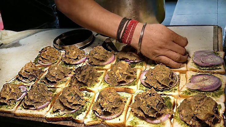 SANDWICH NINJA OF INDIA | Amazing Cooking Skills | Indian Street Food