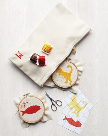 "martha's ""how to cross stitch"" + free patterns"