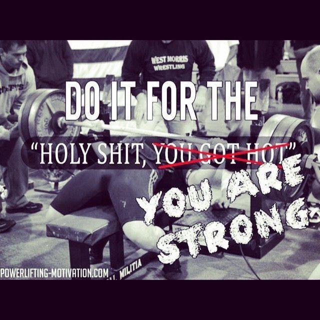 Powerlifting Motivation