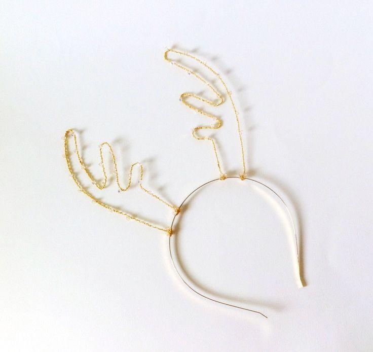 Best 25 reindeer antlers ideas on pinterest deer for Reindeer antlers headband craft