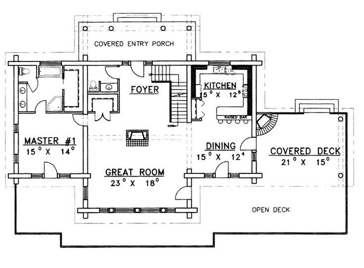 15 best floor plans images on pinterest | log cabin floor plans