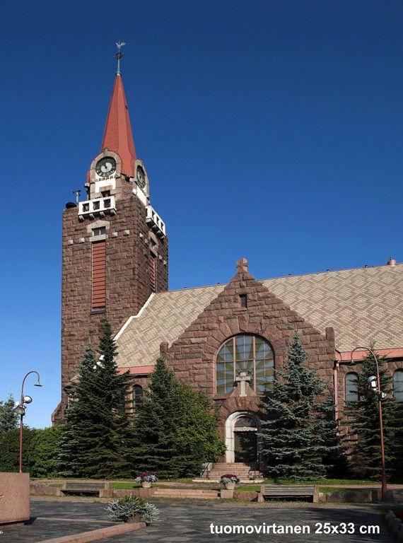 Raahe, Pyhän Kolminaisuuden kirkko, (Josef Stenbäck)