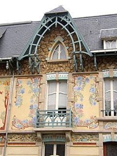 Maison Art Nouveau - Nancy