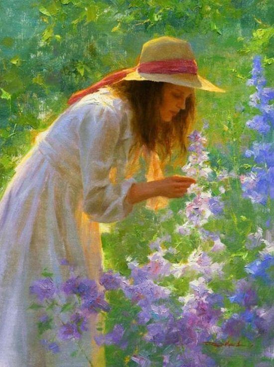 'Picking Flowers'