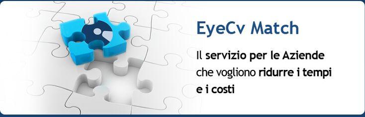EyeCv il cv maker digitale. Semplice, completo, d'impatto e gratuito. Crea il tuo curriculum, differenziati, condividi il tuo profilo professionale e trova lavoro.