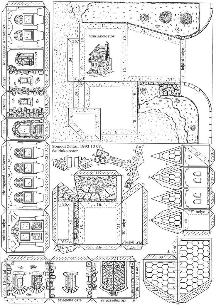 Best Somodi Zoltn Paper Models Images On   Paper