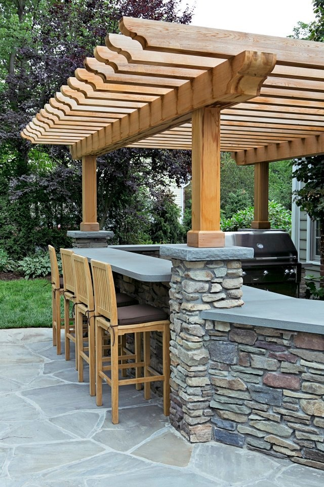 beautiful outdoor kitchen in 2020 | Backyard patio designs ... on Patio Ideas 2020 id=49867