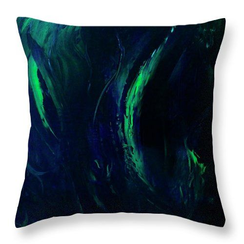 Winter Northern Lights Canvas Print #pillow #homedecor #christmasgifts