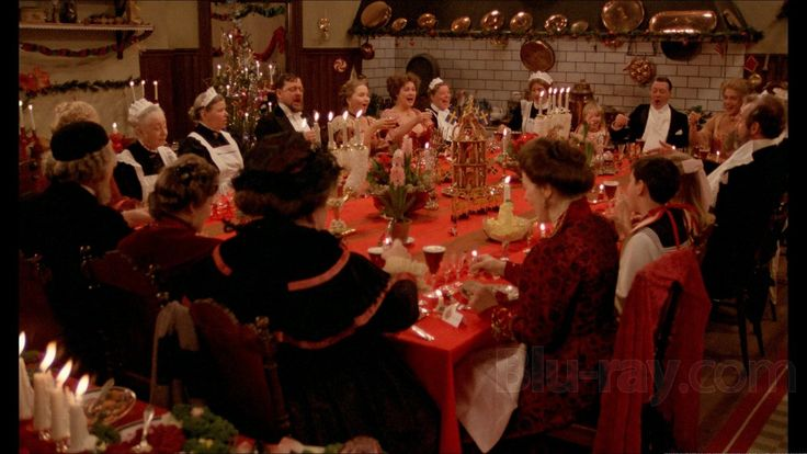 Fanny and Alexander.  The longer version is a tradition for me to watch every Christmas.