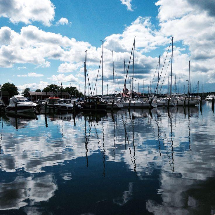 Ekenäs guest harbor in Raseborg, Finland