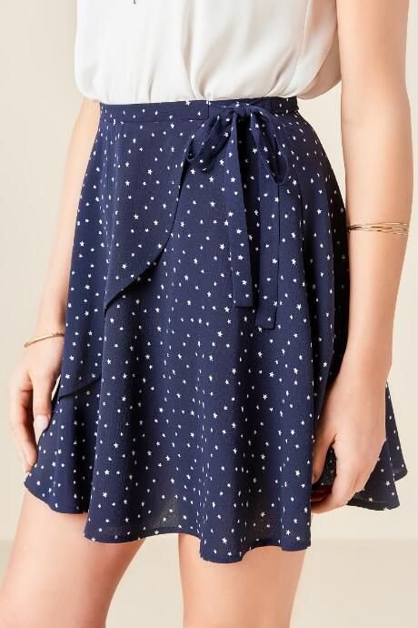 Nia Star Printed Skirt