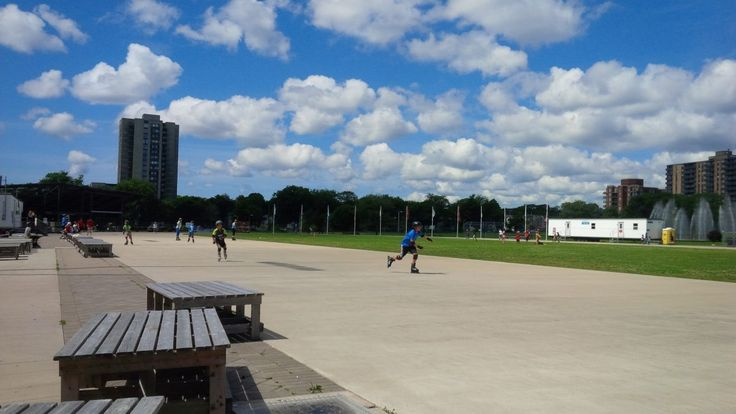 THIS SUMMER TRY INLINE SKATING AT THE HALIFAX EMERA OVAL