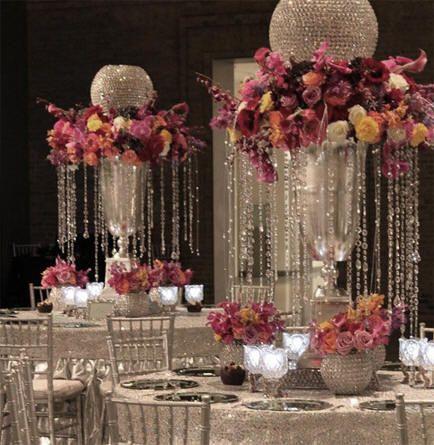 25 Best Ideas About Crystal Wedding Centerpieces On Pinterest