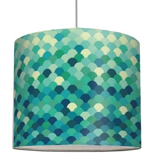 Lavish  Turquoise Silk Lamp Shade and turquoise and coral lamp shade