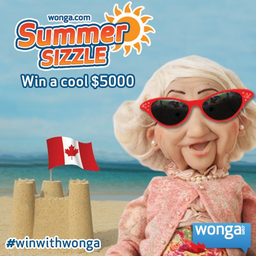 Enter the Summer sizzle cash giveaway for a chance to win a cool $5000: http://wongaapps.com/summersizzle/  What would you spend the money on if you won $5000?  Spread the word and good luck!  #winwithwonga