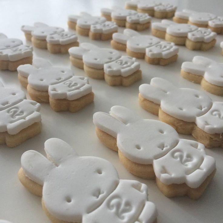 Nijntje verjaardagskoekjes #miffy #cookies