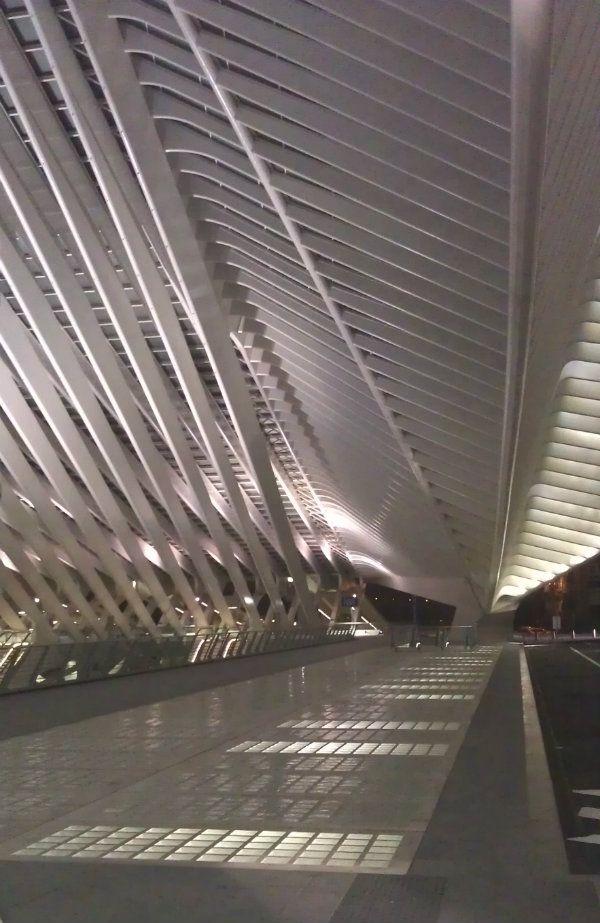 Santiago Calatrava Liege Station  #SantiagoCalatravaArchitecture Pinned by www.modlar.com