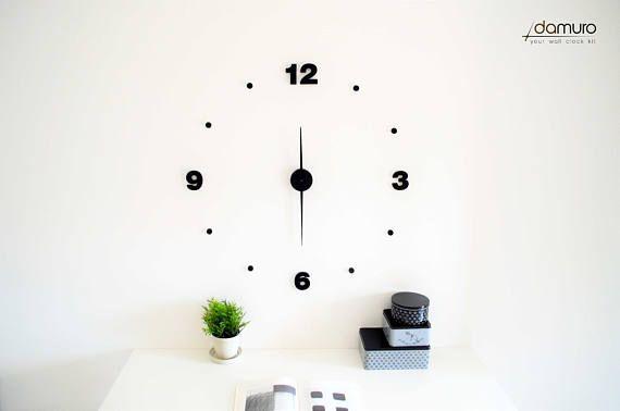 Bold  damuro your wall clock kit. Grande orologio da parete