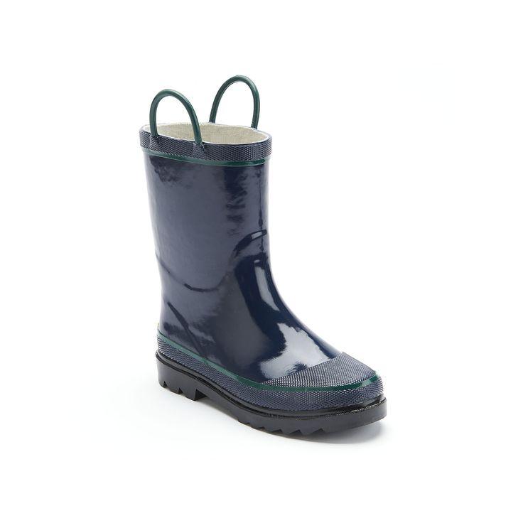 Western Chief Rain Boots - Boys, Boy's, Size: 11, Blue (Navy)